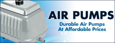 Aquarium Air Pumps At ThatFishPlace.com