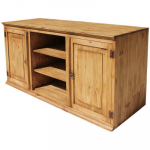 Roma Mexican Rustic Pine TV Stand