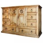 Tonala Star Mexican Rustic Pine Dresser