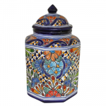 Small Talavera Kitchen Canister