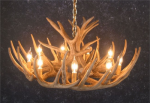 Whitetail 12 Antler Cascade Chandelier - SALE