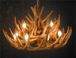 Whitetail 21 Antler Cascade Chandelier - SALE