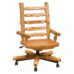 Log Executive Chair