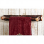 Hickory Towel Bar - 24 Inch