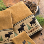 Moose & Pine Bath Towel