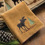 Moose & Pine Wash Cloth