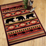 Native Bear Rug - 3 x 7