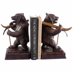 Ski Bear Bookends