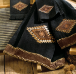 Mojave Black Bath Towel