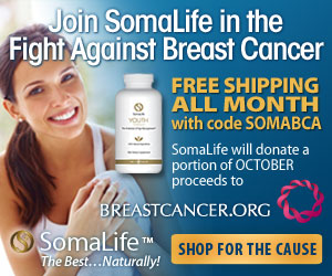 Join SomaLife in the Fight Against Breast Cancer