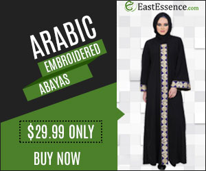 Embroidered Abayas
