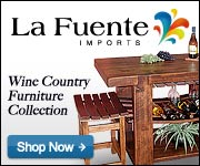 Shop La Fuente Imports for fine Wine Collection Furniture and Wine Collection Decor