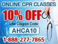 Save 10% on CPR Certifications!