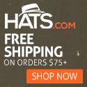 Free Shipping at hats.com