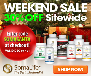 Weekend Sale from ShopSomaLife.com!