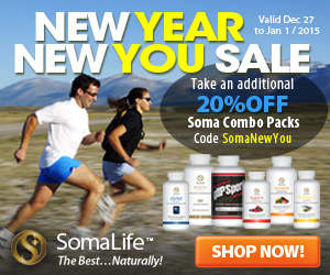 New Year New You Sale from ShopSomaLife.com!