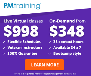 PMTraining Live PMP Classes
