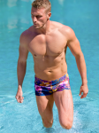 Summer Nights Mens Swim Hipsters