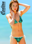 Emerald Triangle Top Bikini