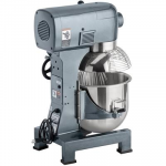 Avantco MX20 20 Qt. Gear Driven Commercial Planetary Stand Mixer with Guard - 110V, 1 hp