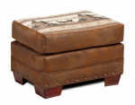 Mountain Lake Ottoman