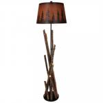 Colorado Campfire Floor Lamp