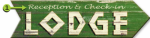 Lodge Personalized Arrow Sign