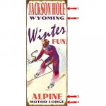 Winter Fun Sign - 17 x 44