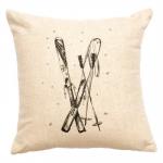 Natural Skis Pillow