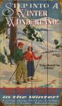 Winter Wonderland Ski Sign