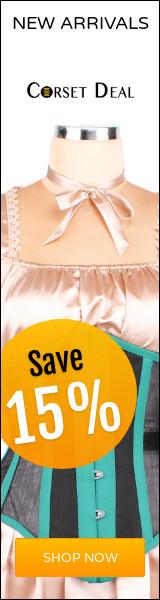 Save 15% on New Elyzza London Corset Range