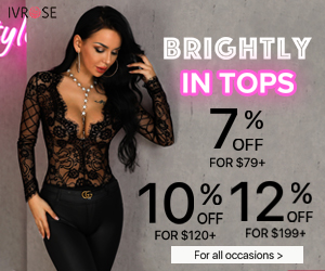 BRIGHTLY IN TOPS,GET 12% OFF FOR ANY ORDER ,UP TO 85% OFF SITEWIDE