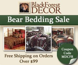 Black Forest Decor's Bear Bedding