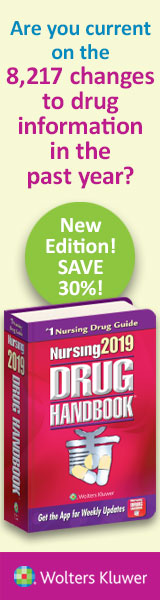 New 2019 Nursing Drug handbook from LWW.com!