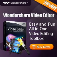 All-in-one Easy-to-use home video editing software