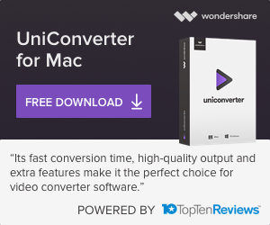 Wondershare UniConverter (맥)