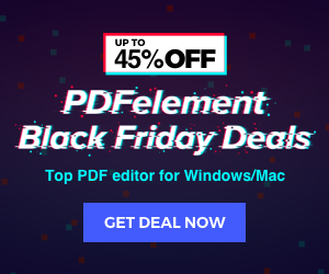 Up to 45% OFF-PDFelement Blackfriday