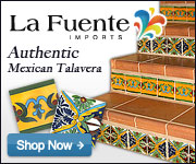Shop La Fuente Imports for Authentic Mexican Talavera Tile, Pottery, and Decor