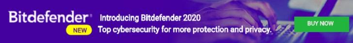 Bitdefender 2019 728x90