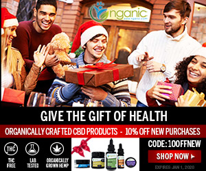 Holiday Coupon from NGANIC Organic CBD