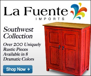 Shop La Fuente Imports for fine Southwestern Furniture and Home Decor